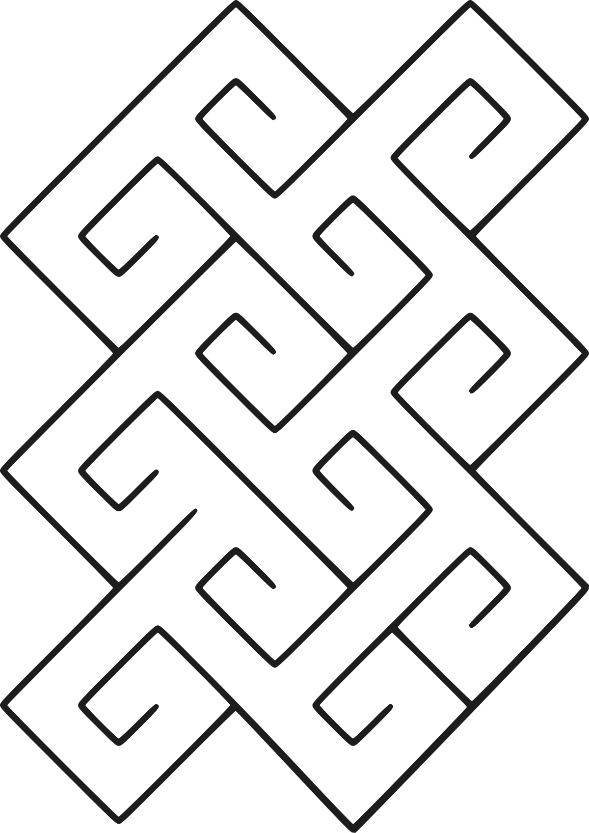 Drawing mazes simple square. Build a backyard labyrinth