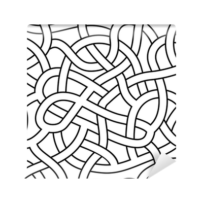 Drawing mazes complex. Seamless abstract maze labyrinth