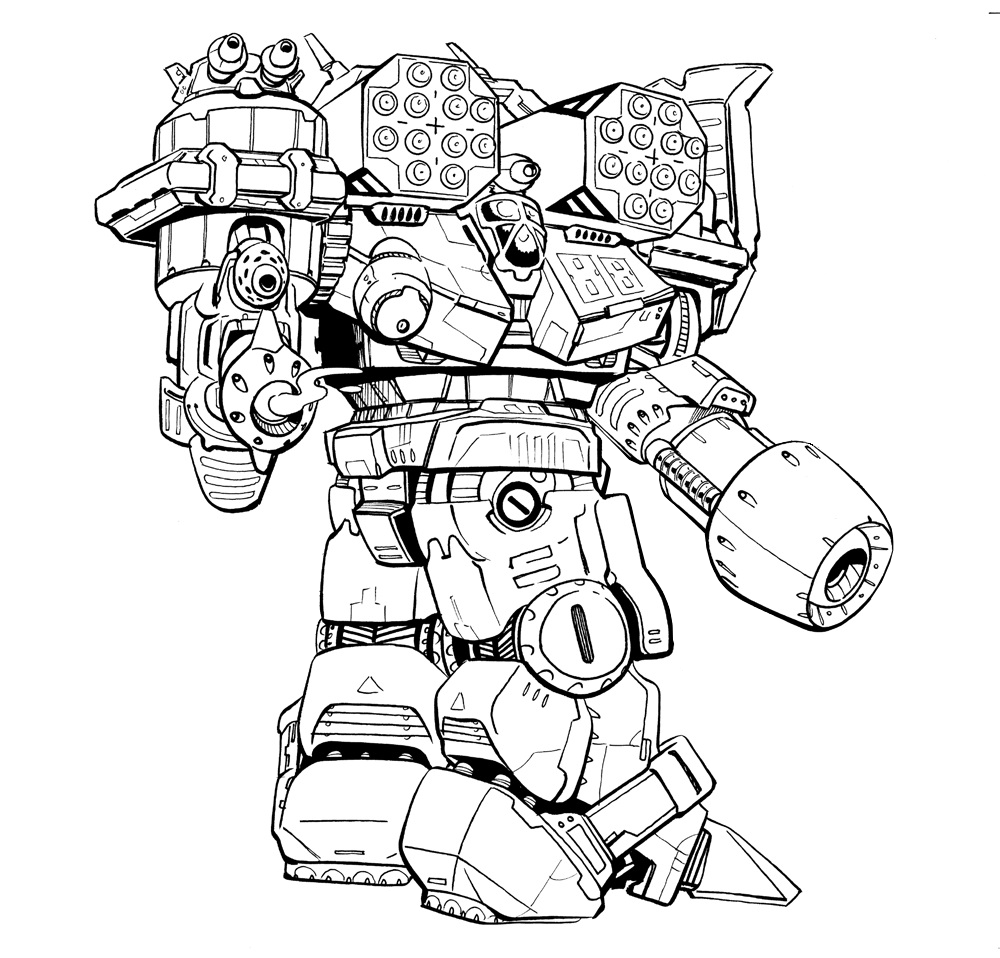 Drawing mechs. Mwo forums march mechpack