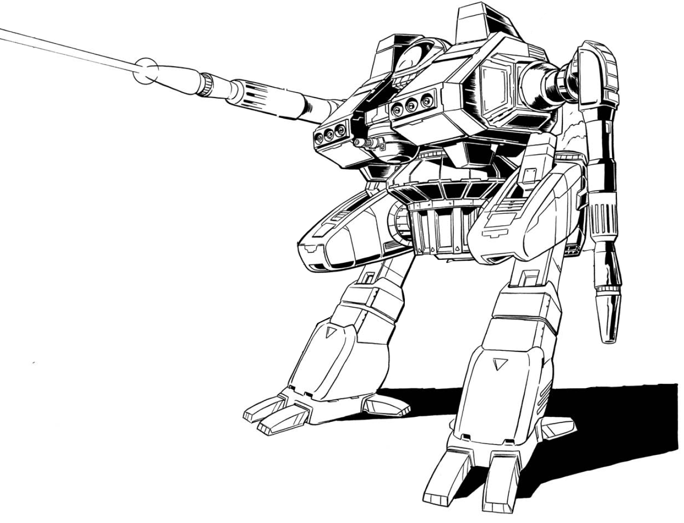 Drawing mechs. Mwo forums metalicious for