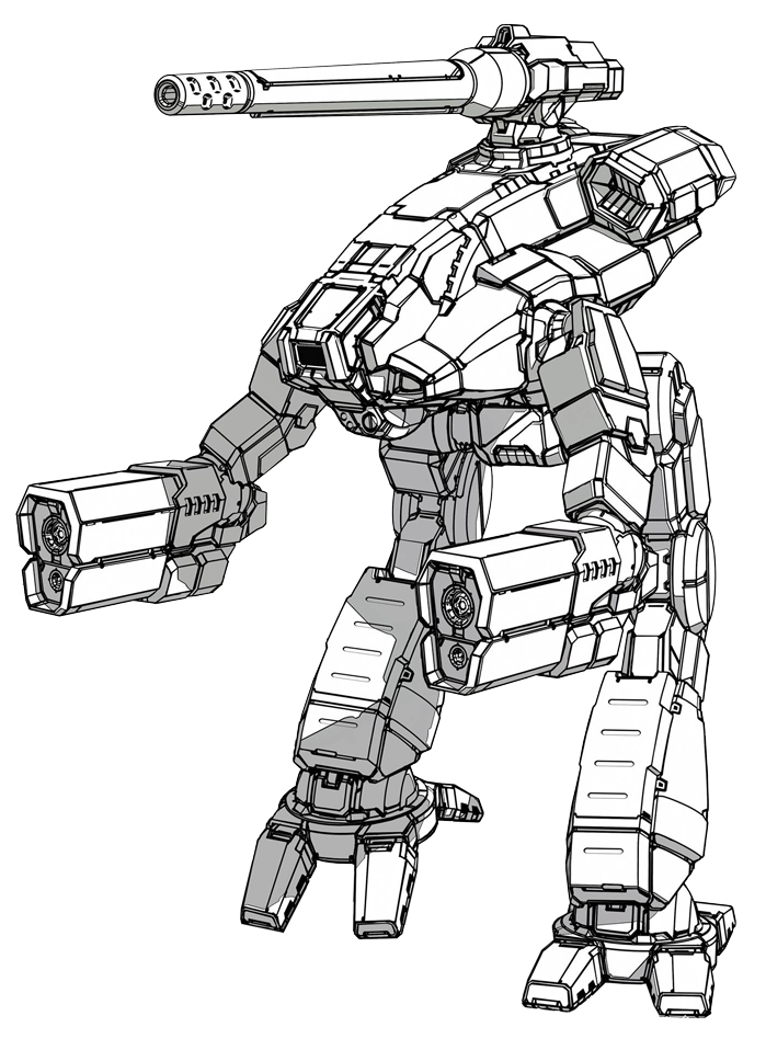 Drawing mechs. I played my first