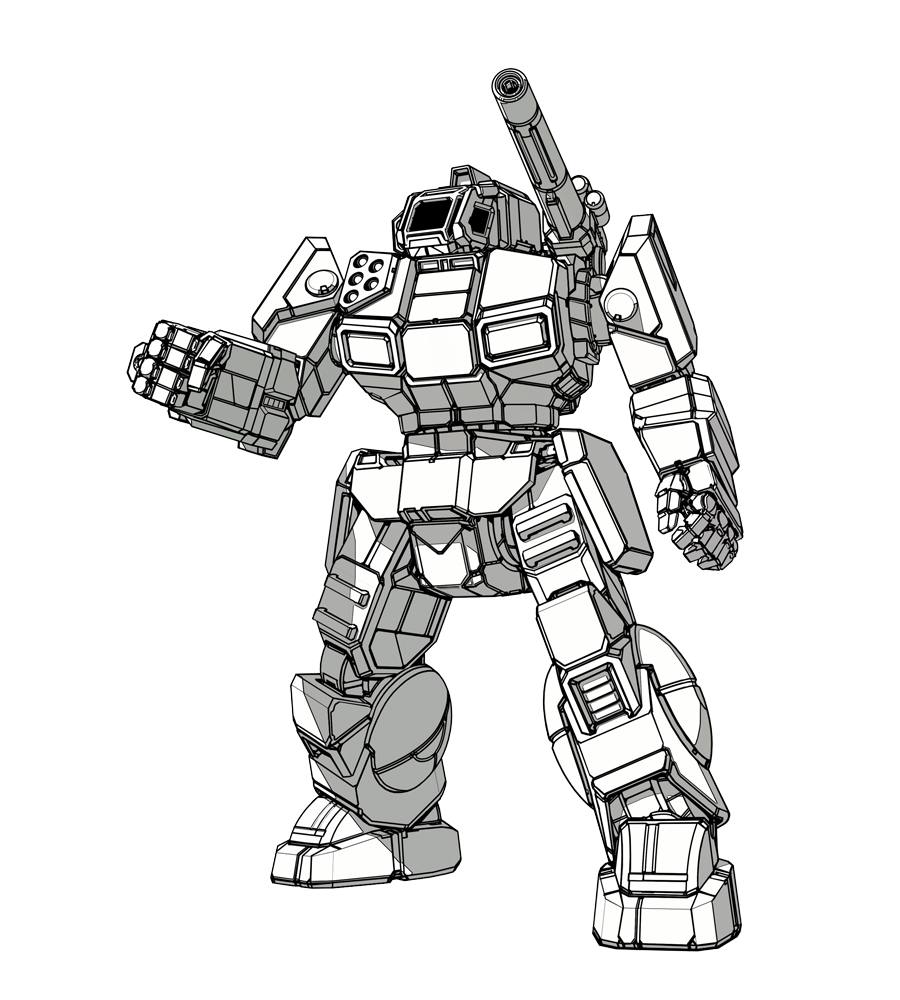 Drawing mechs. Tg traditional games thread