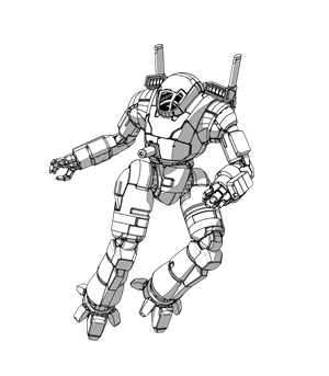 Drawing mechs. Have all the new