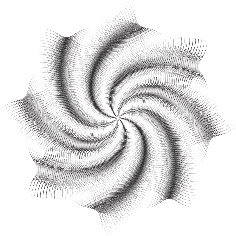 Drawing medium abstract. Clipart prismatic line art