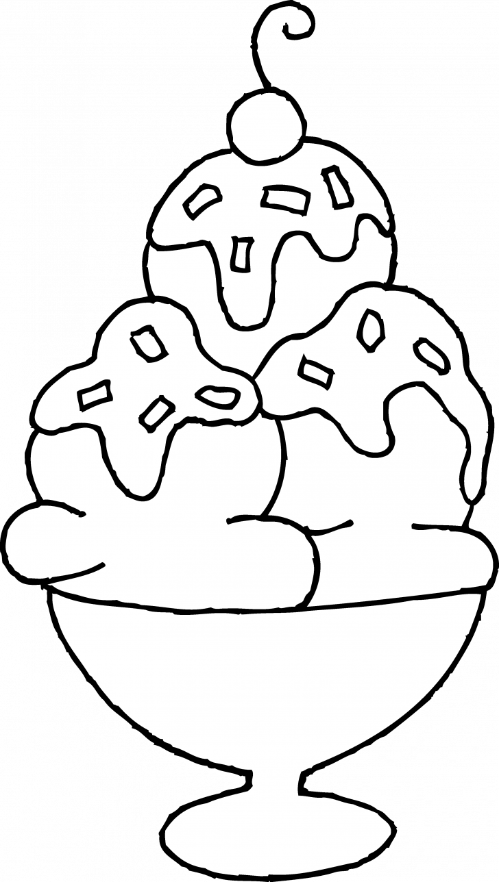 Drawing medium unique. Coloring pages modish ice