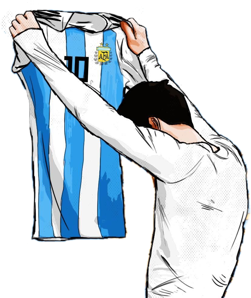 Drawing messi. Leo argentina football goal