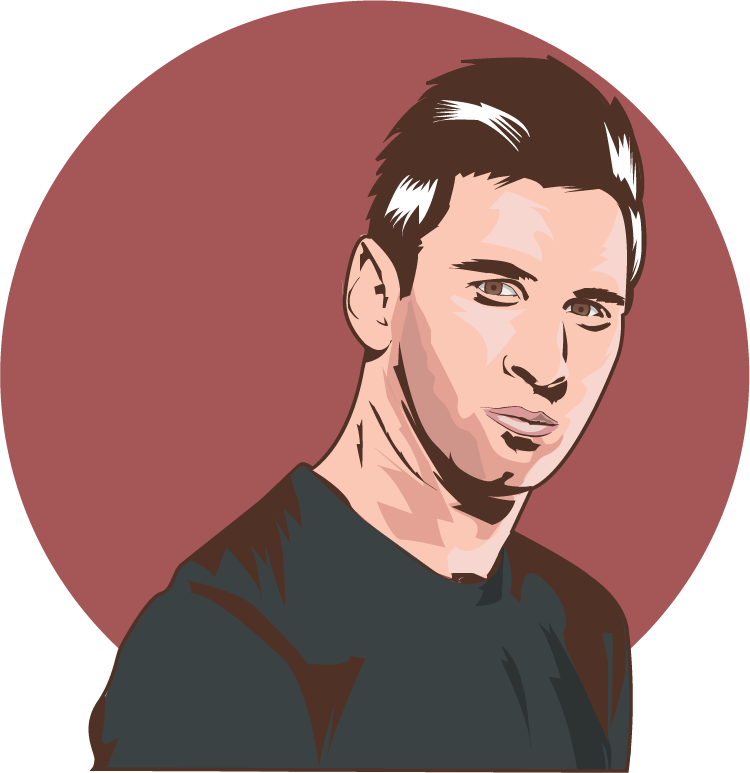 drawing messi wallpaper