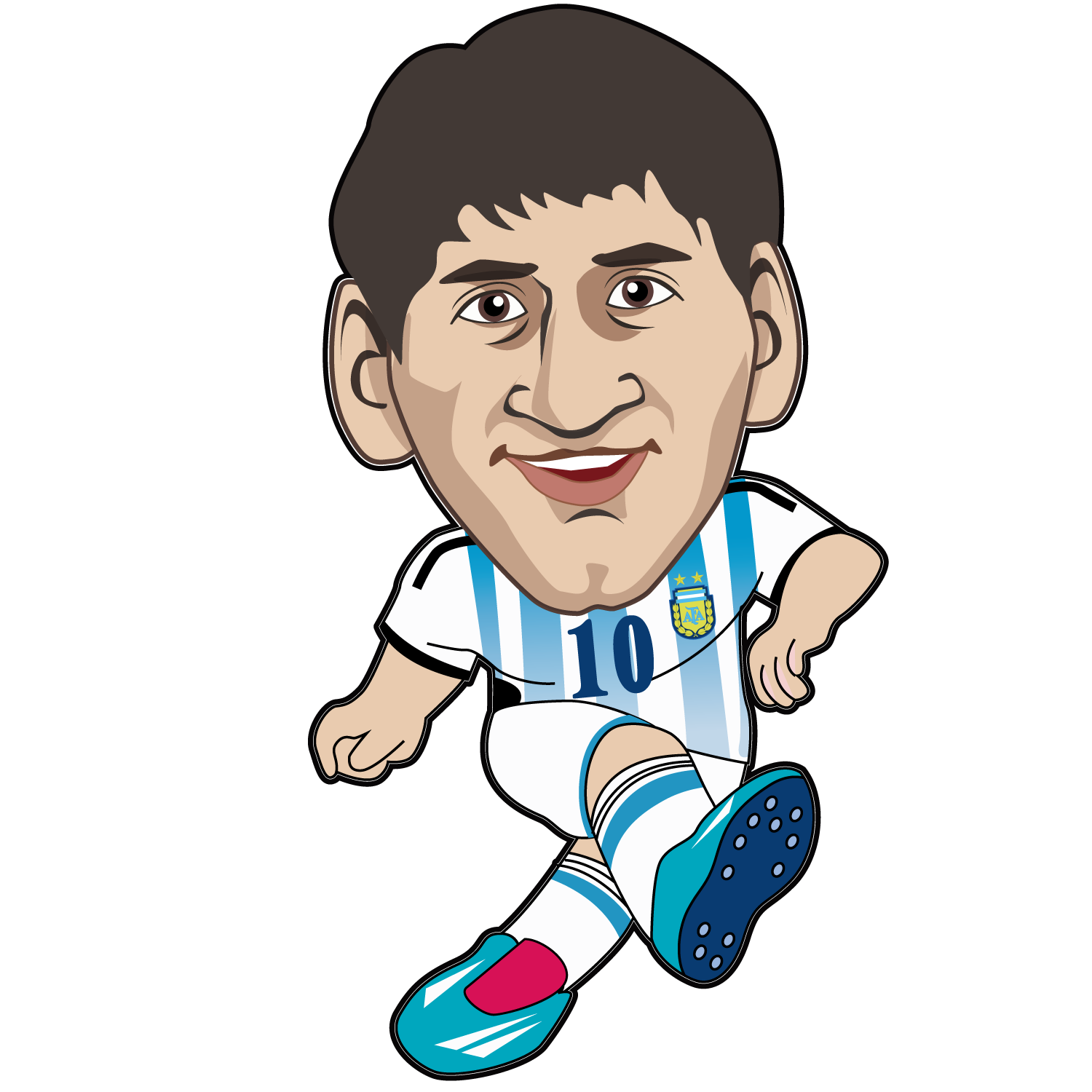 Drawing messi animation. Lionel fc barcelona argentina
