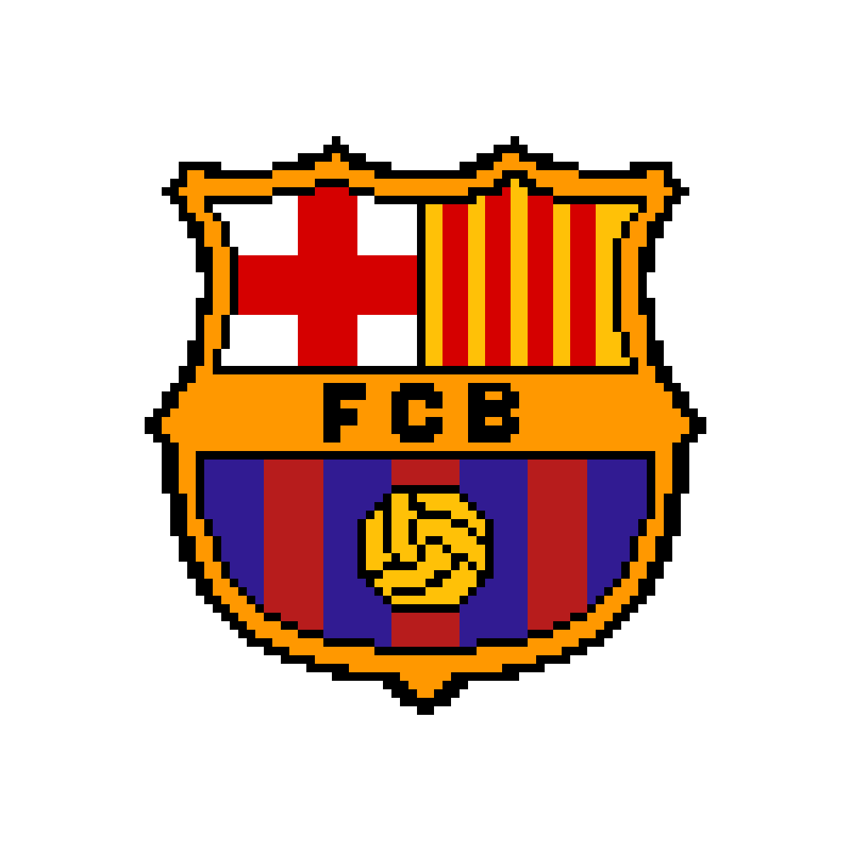 Drawing messi barcelona. Pixilart fc by soccerqueen