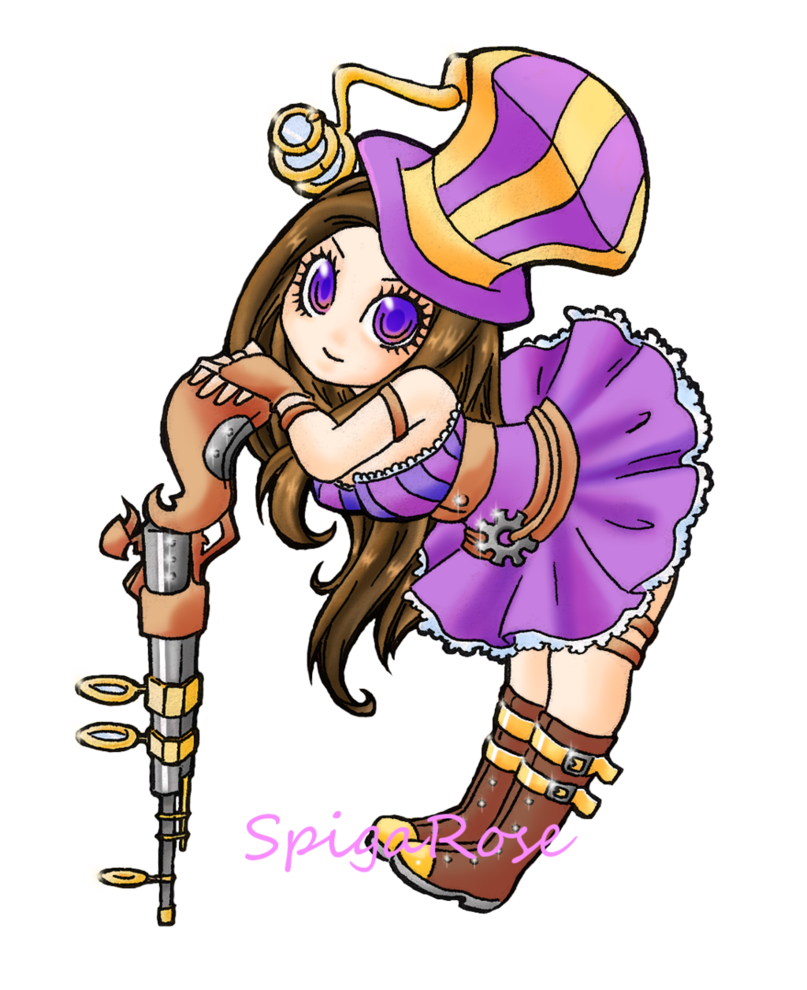 Drawing messi chibi. Caitlyn by spigarose on