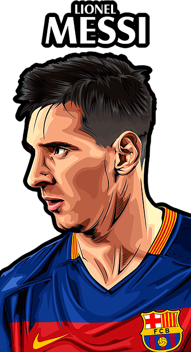 Drawing messi sheet. Duvet cover for sale