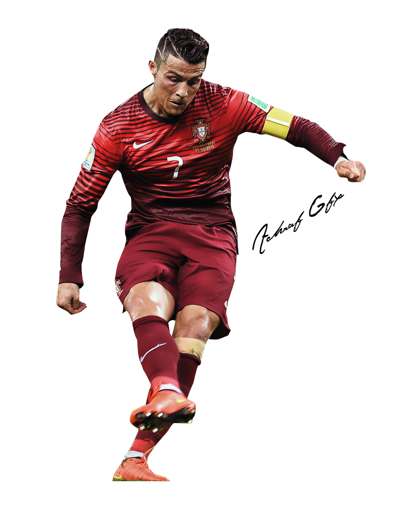 Cristiano ronaldo render by. Drawing messi cr7 transparent library
