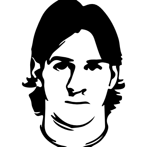 Lionel free people icons. Drawing messi easy clip free