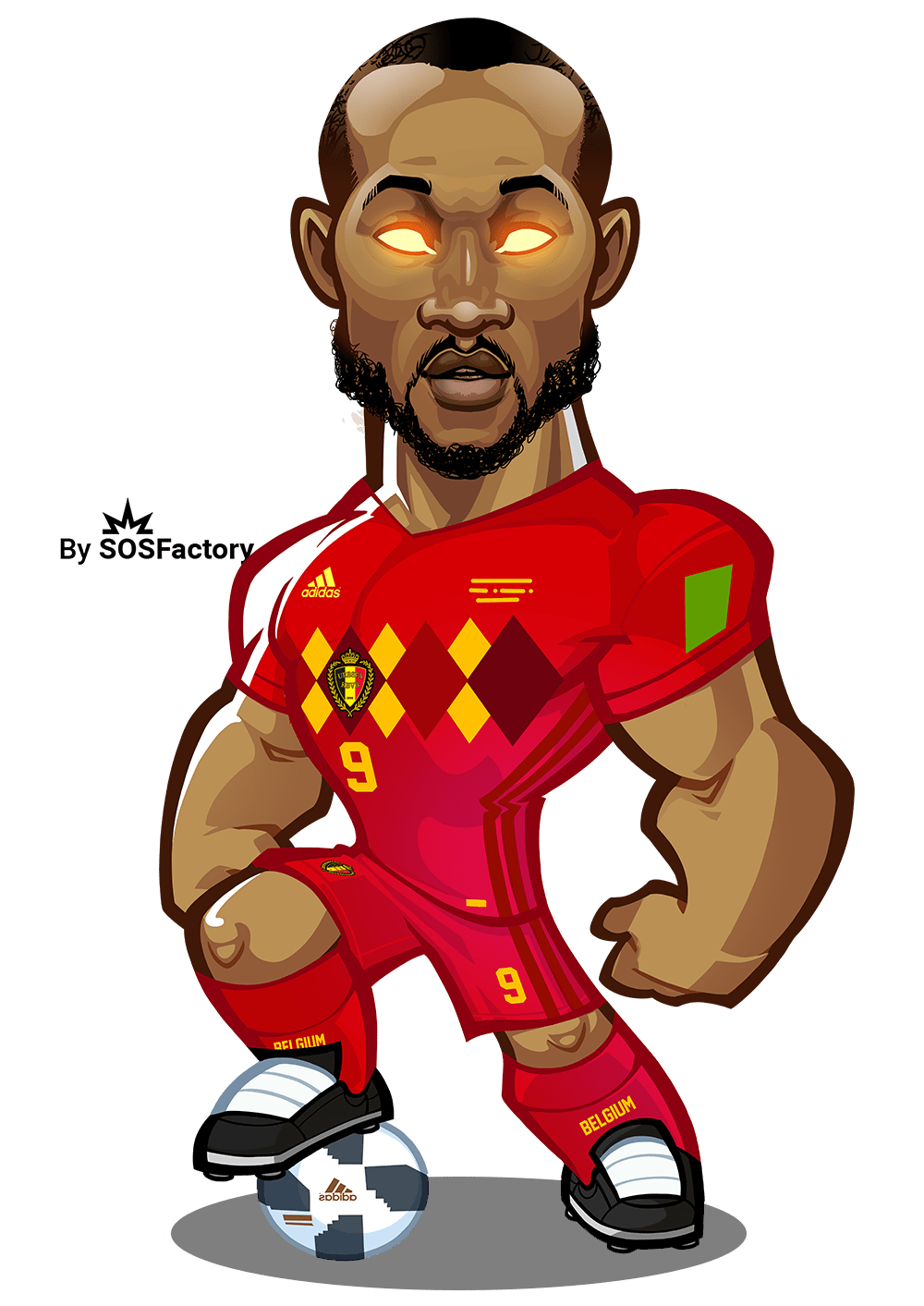 Drawing messi full body. Worldcup russia mascotization project