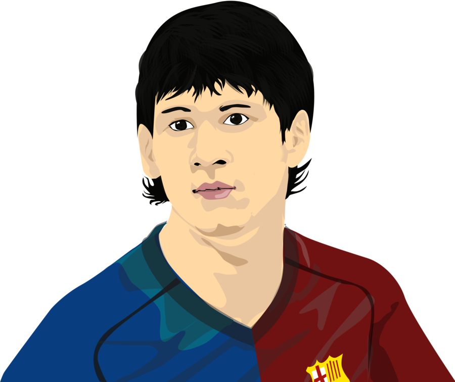 Drawing messi pastel. Vexel by winarasetyo on
