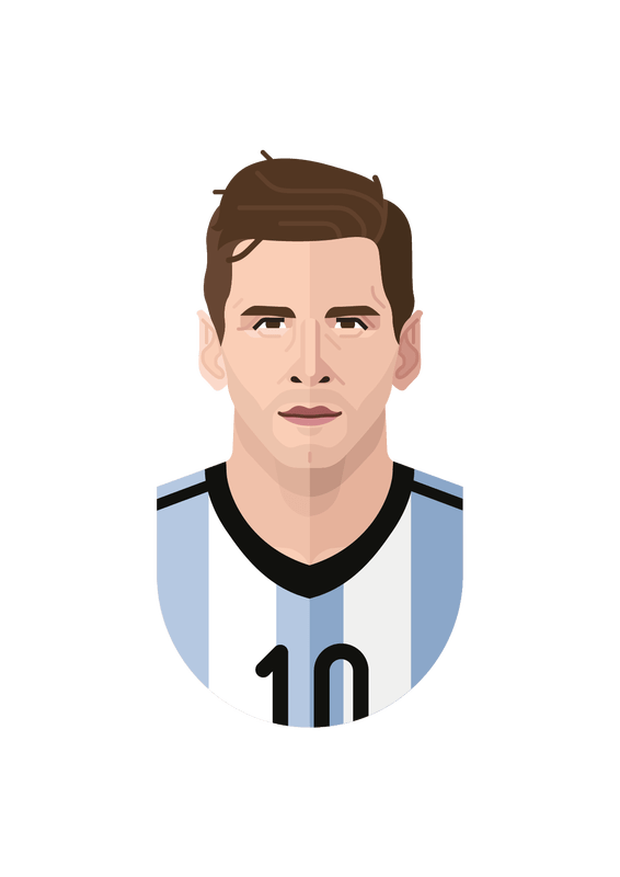 Drawing messi poster. The cool club lionel