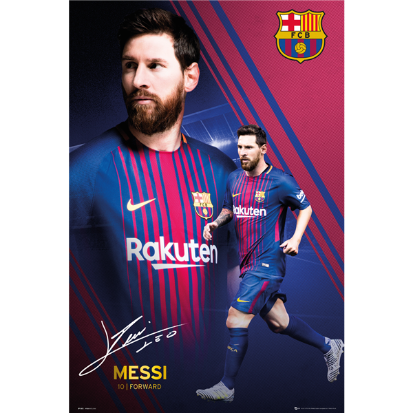 Drawing messi poster. Barcelona lionel products