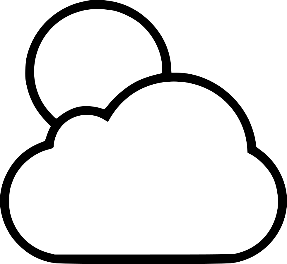 Drawing methods cloud. Full moon svg png