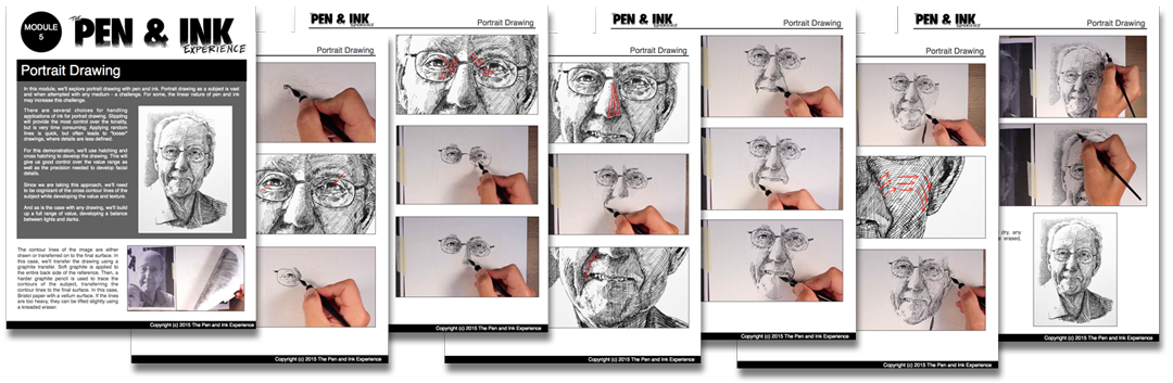 Drawing methods pen and ink. The experience thevirtualinstructor com