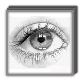 Drawing realism hyperrealism. Realistic technique for android