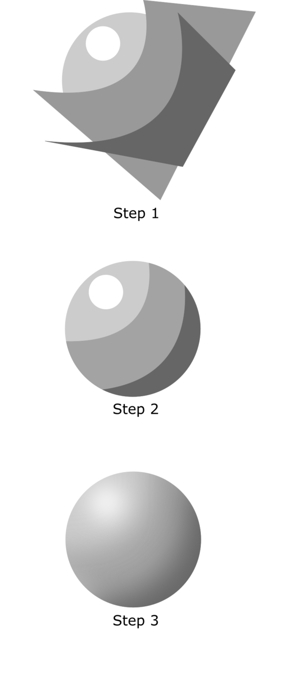 Drawing methods shading. Inkscape tutorial by x