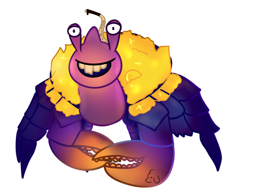 Drawing moana cartoon. Tamatoa the walt disney