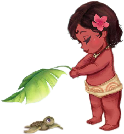 Moana baby cute turtle
