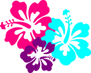 Drawing moana flower. Hibiscus clip art for