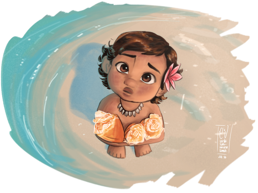 Drawing moana expression. In my favorites folder