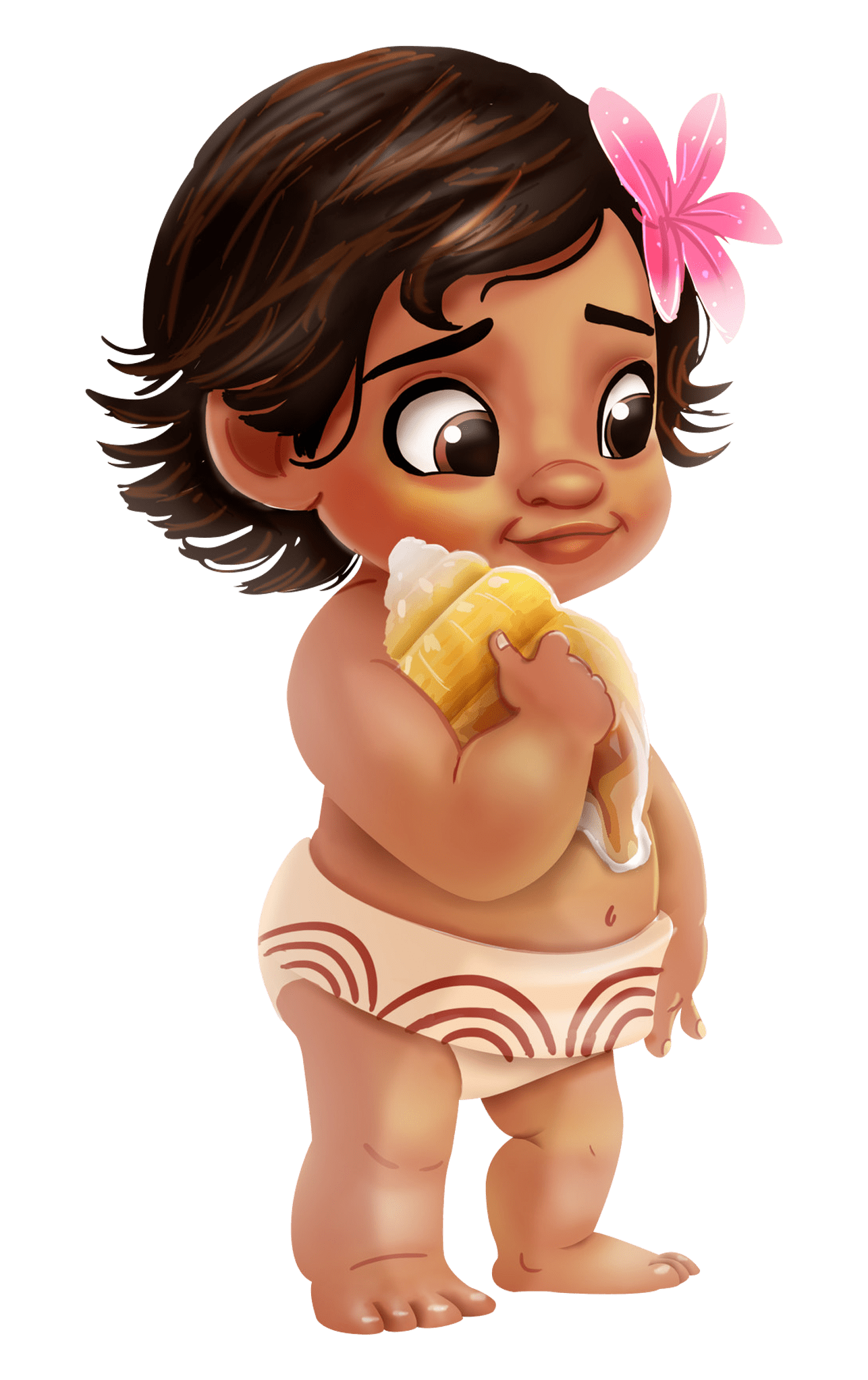 Drawing moana cute baby. Diy tumblers and svgs
