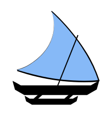 Drawing moana sailboat. Proa wikipedia sailplan of