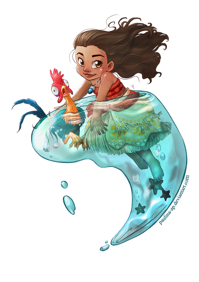 Drawing moana. By paulina ap on