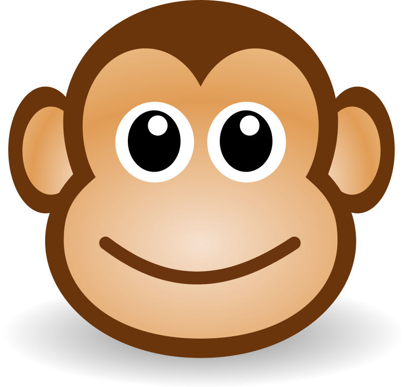Drawing monkeys. How to draw for