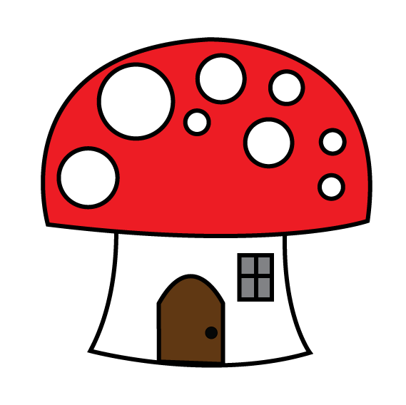 Drawing shrooms doodle. Eridoodle designs and creations