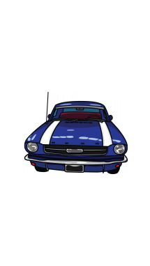 Drawing mustang. How to draw ford