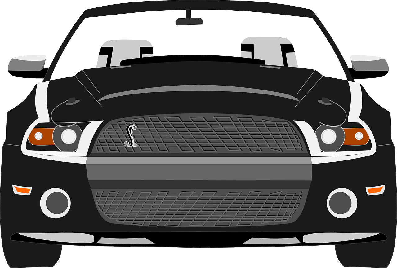 Drawing mustang. News ford easy car