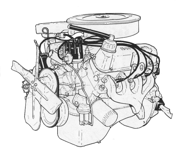 Ford 302 Oiling System Diagram
