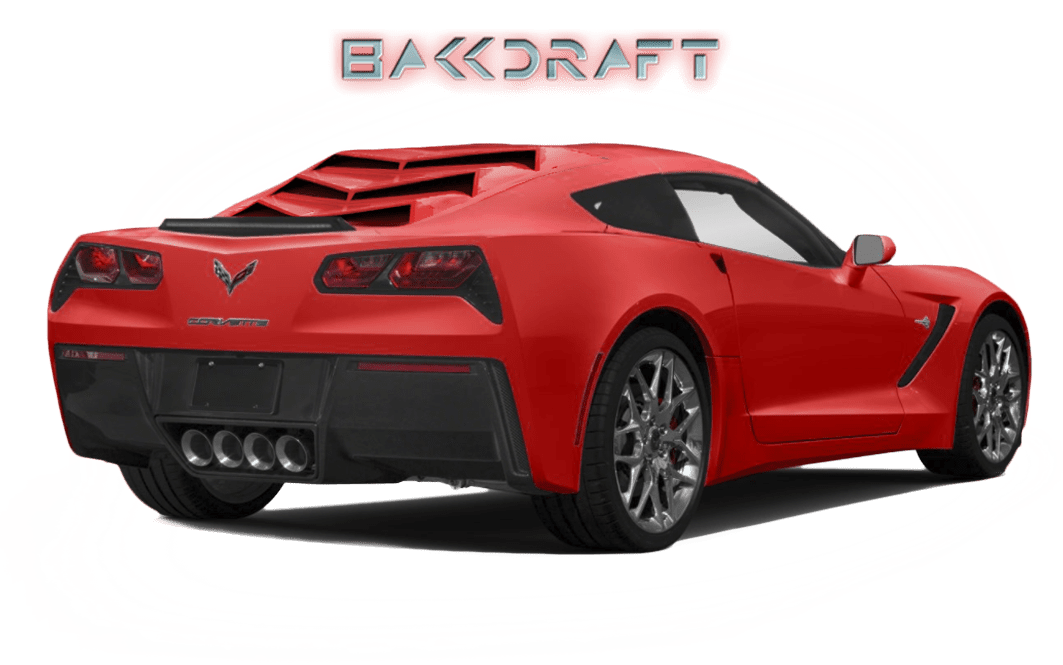 Drawing mustang corvette. Bakkdraft c glassskinz
