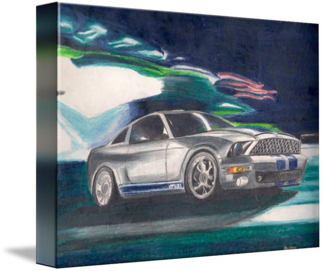 Drawing mustang shelby. Gt by armando andrade