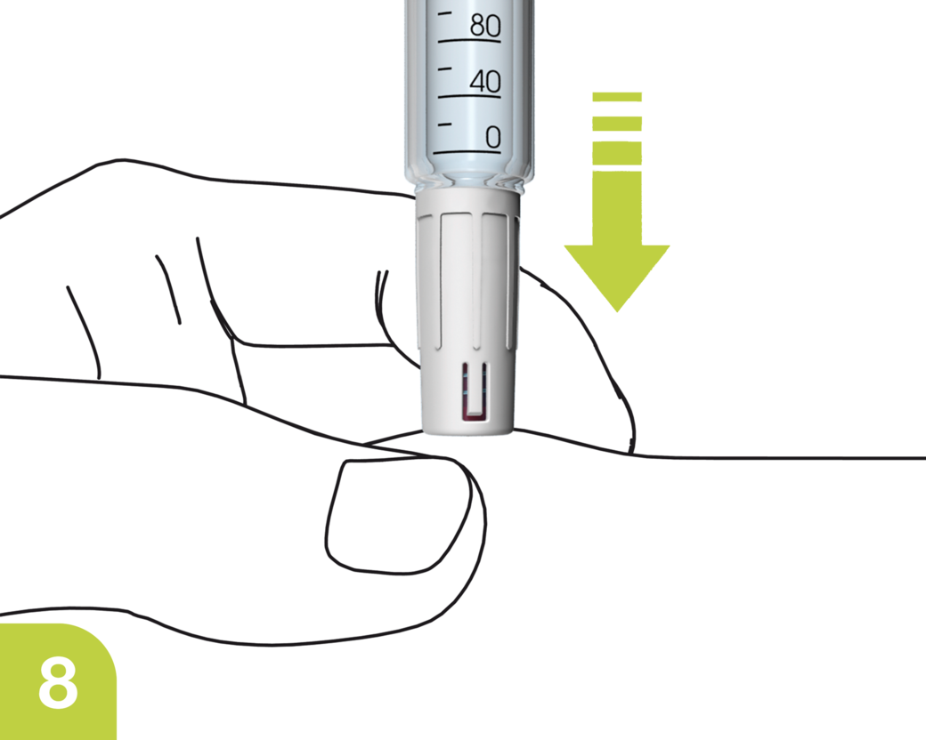 Drawing needles health social care. Mylife clickfine autoprotect diabetescare