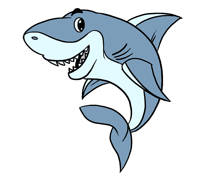Drawing nemo shark head. Cartoon of at getdrawings