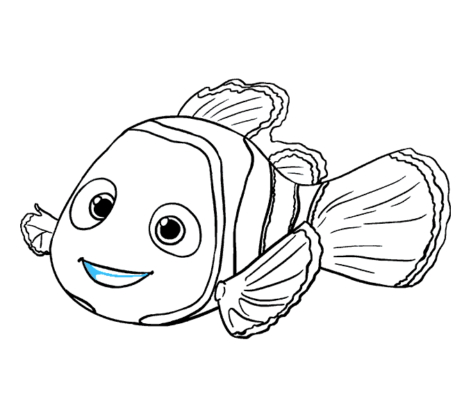 Drawing nemo. How to draw in