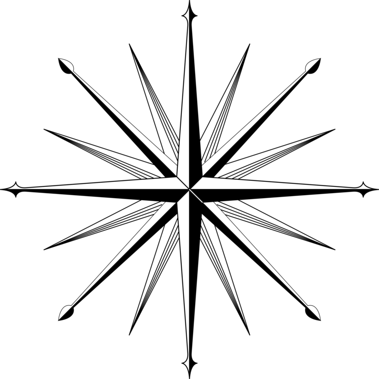 Compass rose wind free. Drawing north jpg transparent stock