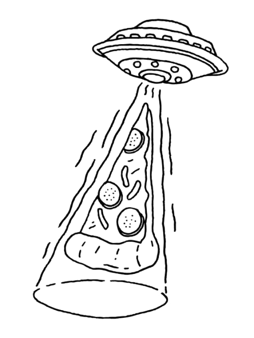 Old Drawing Ufo Transparent Clipart Free Download