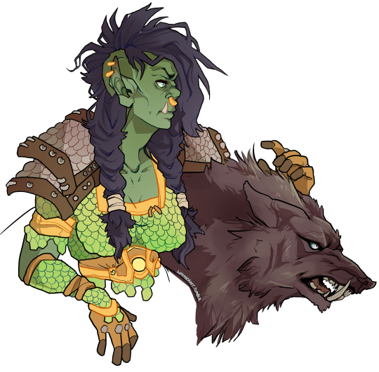 Drawing orcs orc warrior. Omoshiroi pinterest explore these