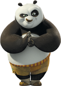 Drawing pandas kung fu panda. Po wikipedia from dreamworks