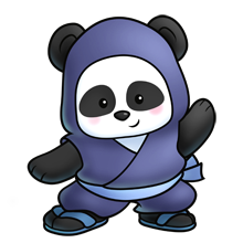 Drawing pandas ninja. Panda fluffs animals pinterest