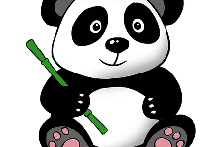 Drawing Pandas Wallpaper Transparent Png Clipart Free Download