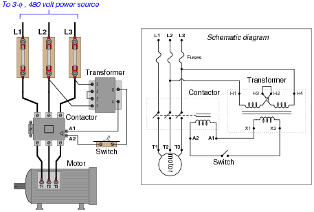 drawing panel electrical control  ac motor circuits electric