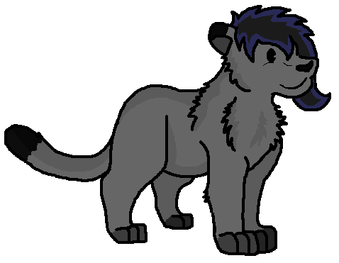 Drawing panther chibi. Thingymajigger by boxes of